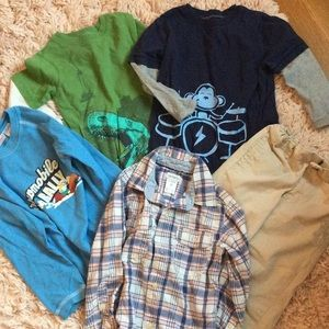 Bundle set for 3 and 4 years boy